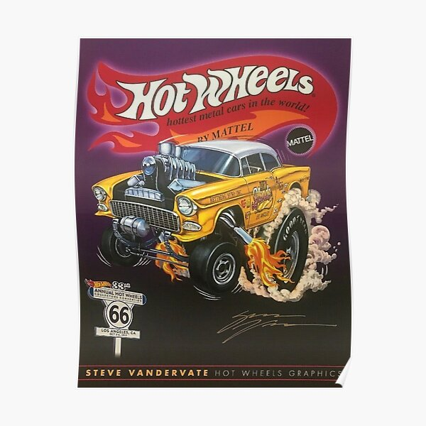 Hot Wheels Posters Redbubble