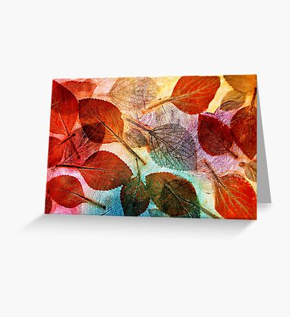 Autumn is Coming to Australia Greeting Card