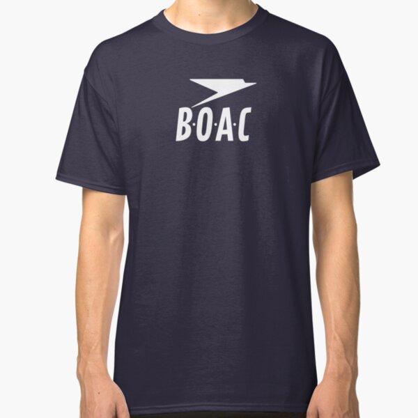 BOAC British Overseas Airways Corporation Classic T-Shirt