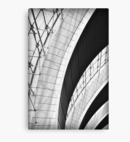 Airport Arches Canvas Print