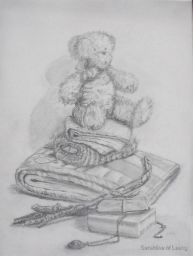 Still Life with Teddy by Geraldine M Leahy