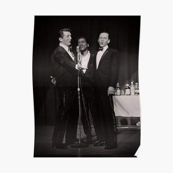 Dean Martin, Frank Sinatra, Sammy Davis Jr. Poster