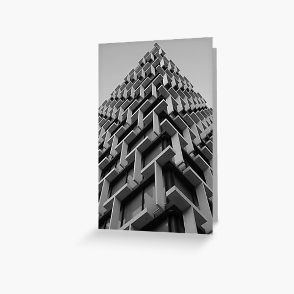 Council House Architecture Greeting Card