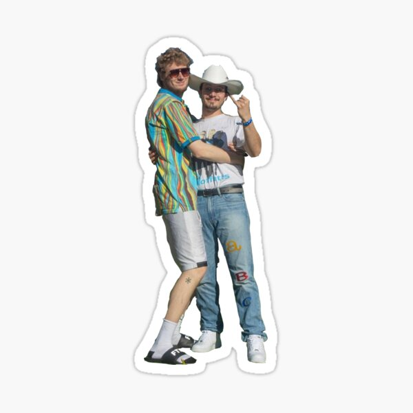 bbno$ & yung gravy Sticker