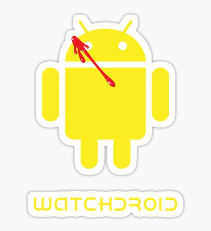 Watchdroid Sticker
