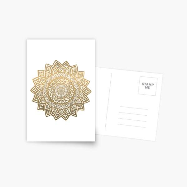 Mandala or Carte postale