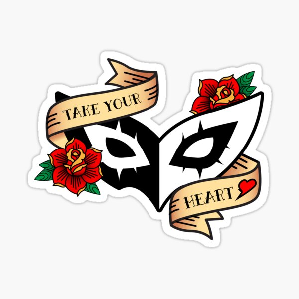 Take Your Heart Sticker