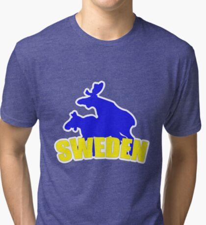 Swedish t-shirts Tri-blend T-Shirt