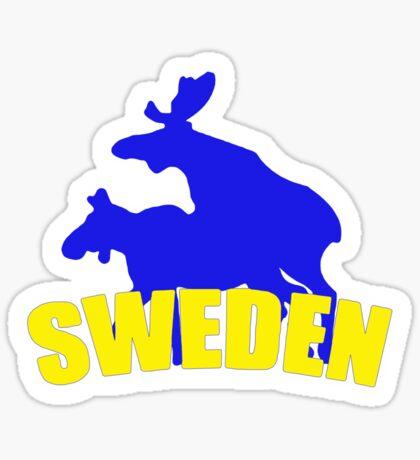 Swedish t-shirts Sticker