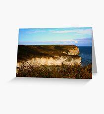 Flamborough Cliffs Greeting Card