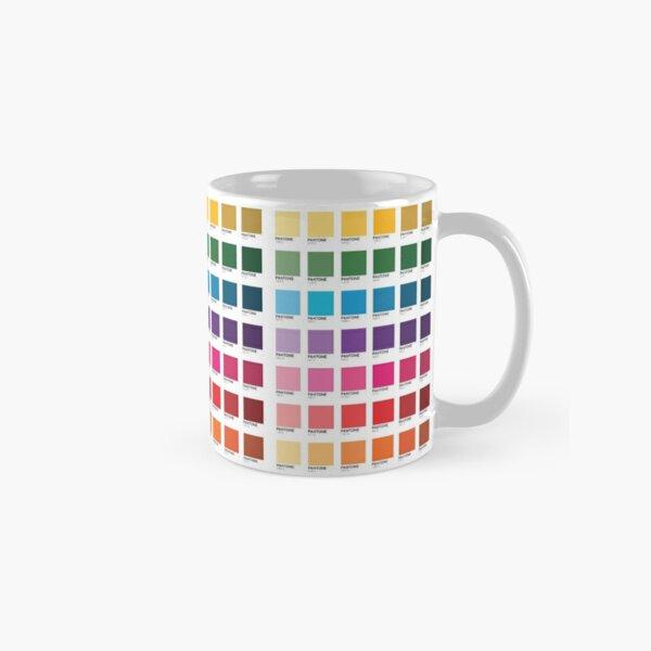 Nuances de couleurs Pantone Mug classique