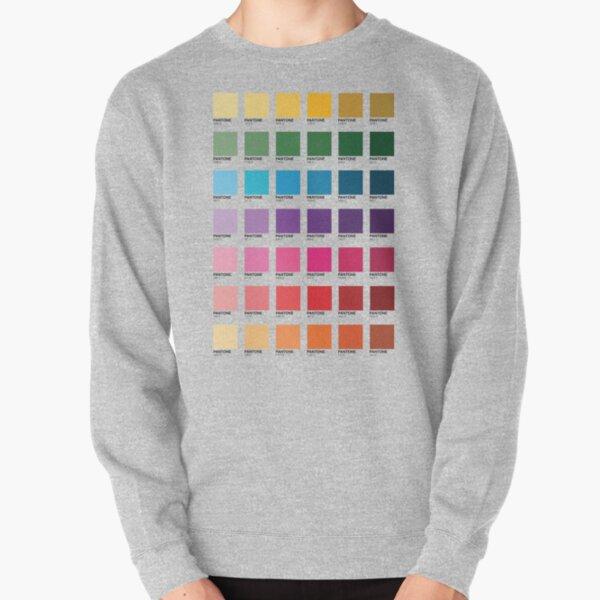 Sombras de colores Pantone Sudadera sin capucha