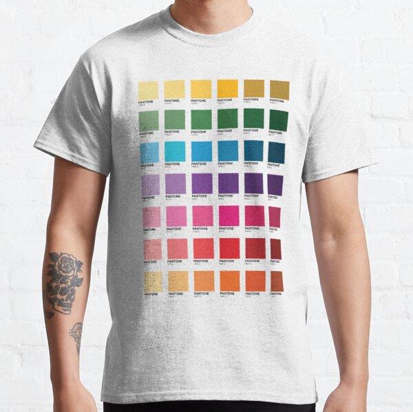 Nuances de couleurs Pantone T-shirt classique