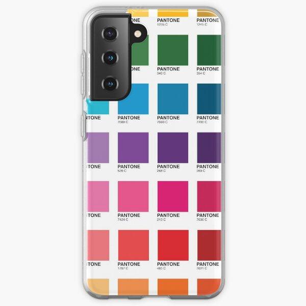 Shades of Pantone Colors Samsung Galaxy Soft Case