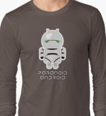 PARANOID ANDROID Long Sleeve T-Shirt