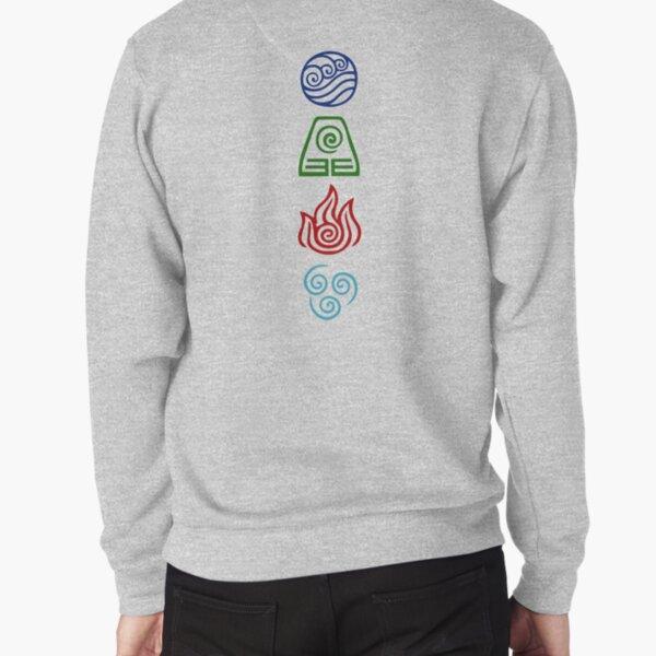 Avatar Four Elements Pullover Sweatshirt