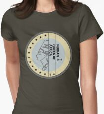 NUBIAN QUEEN Womens Fitted T-Shirt