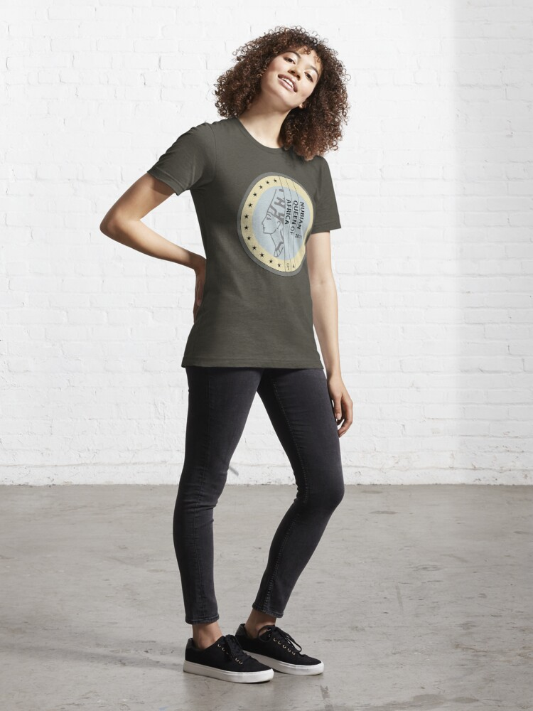 Alternate view of NUBIAN QUEEN Essential T-Shirt