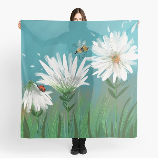 Daisies in Bloom Scarf