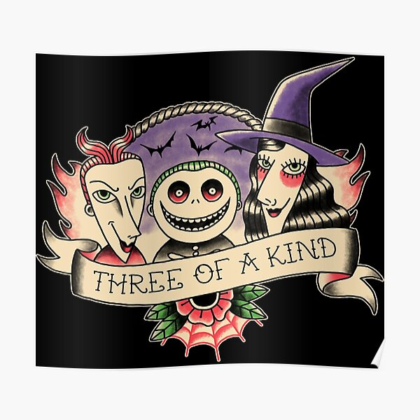 Three of a kind Poster
