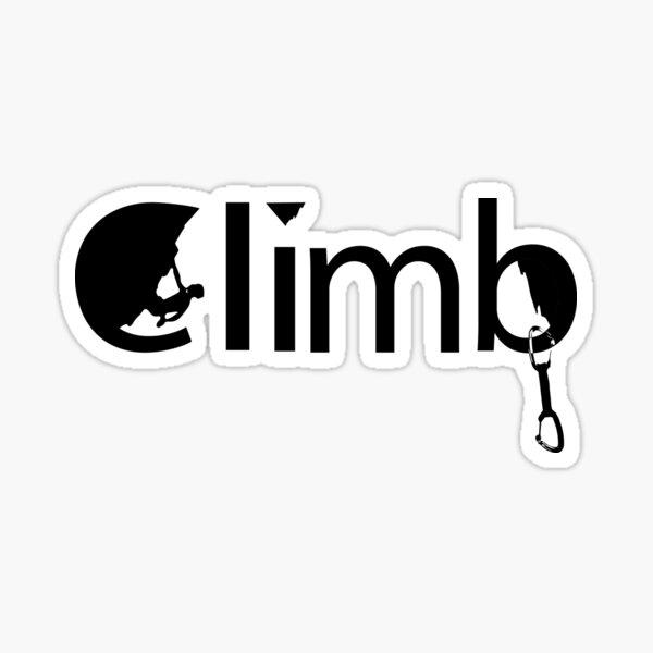 Climb! Sticker