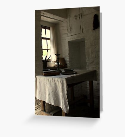 The Seat by the Window Greeting Card