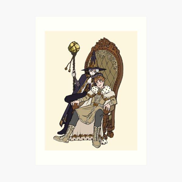King William's Royal Advisor Art Print