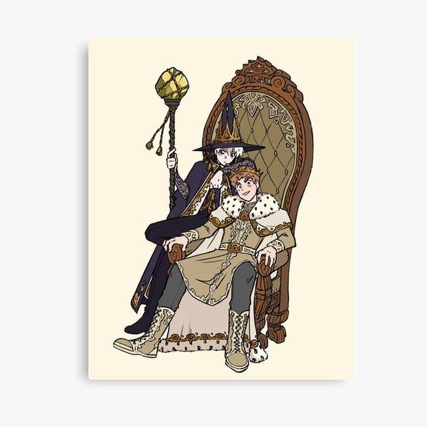 King William's Royal Advisor Canvas Print