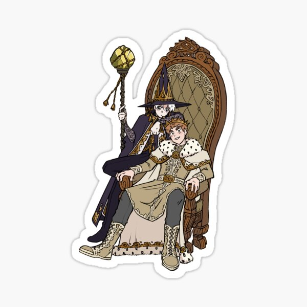 King William's Royal Advisor Sticker