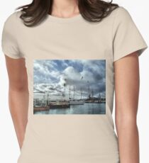 The Fleets In!  Womens Fitted T-Shirt