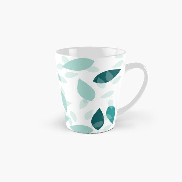 Blue Leaf Mug long