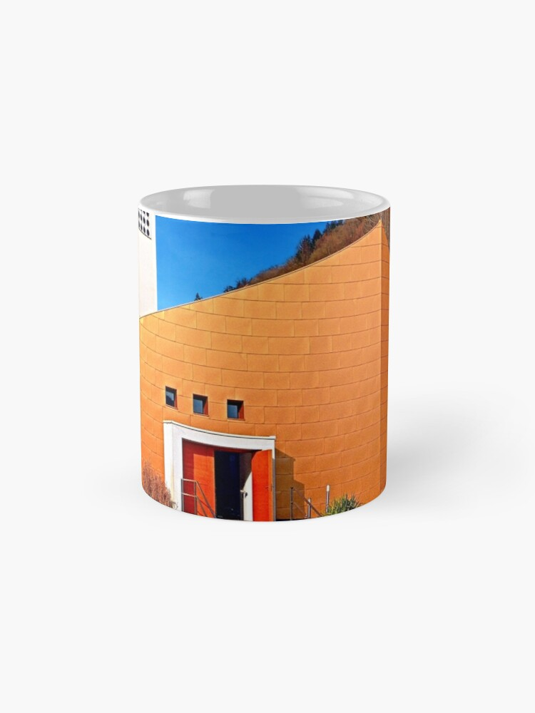 Alternate view of The village church of Obermühl 1   architectural photography Mugs