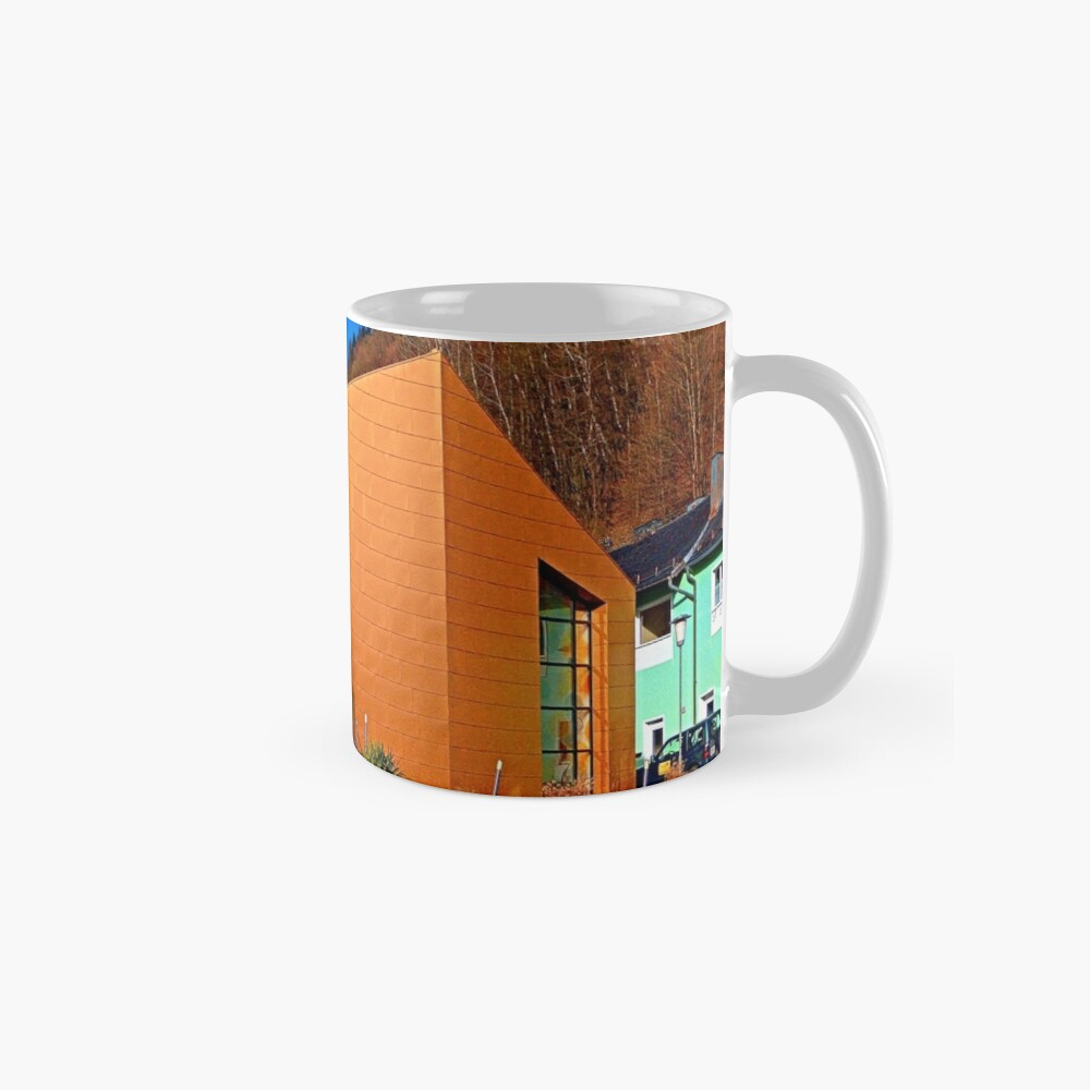 The village church of Obermühl 1   architectural photography Mugs