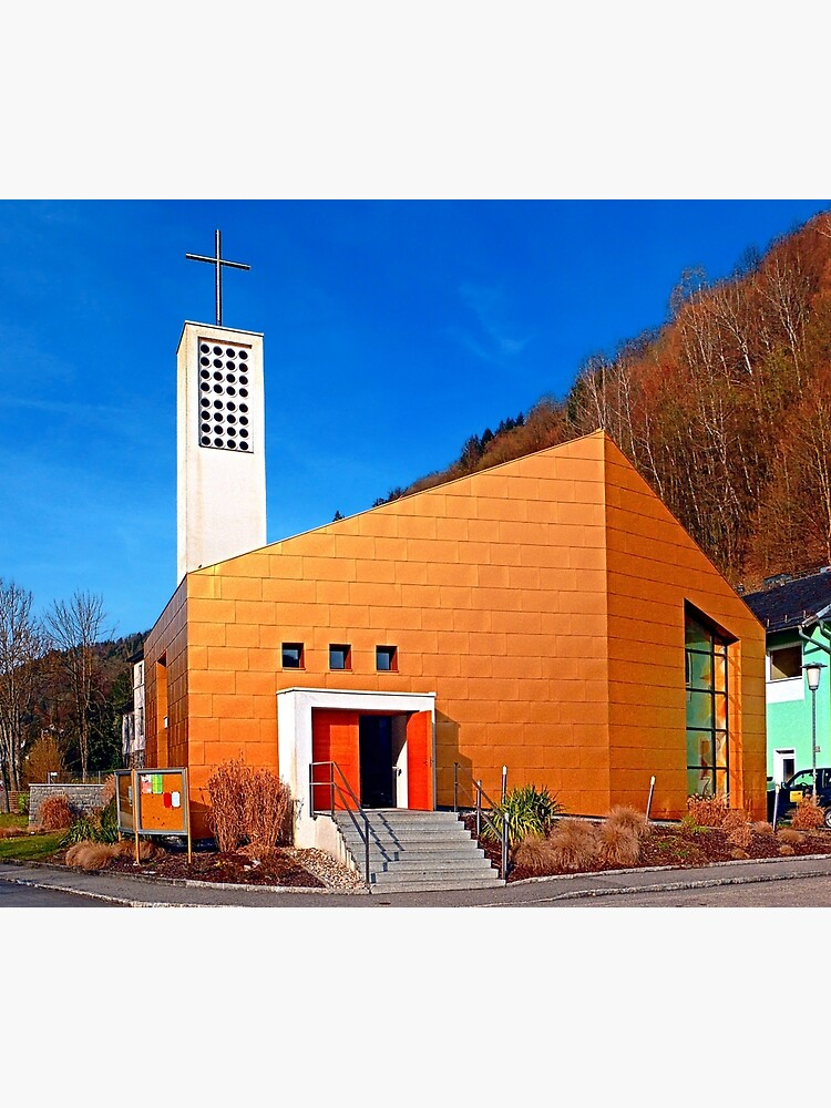 The village church of Obermühl 1 | architectural photography by patrickjobst