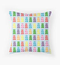 Gummy bear print pillow Throw Pillow