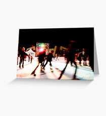 Twilight Skate - San Francisco  Greeting Card