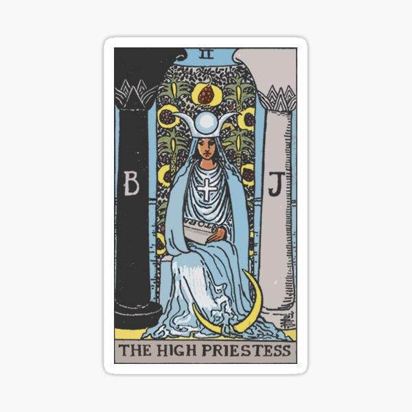 Tarot - The High Priestess Sticker