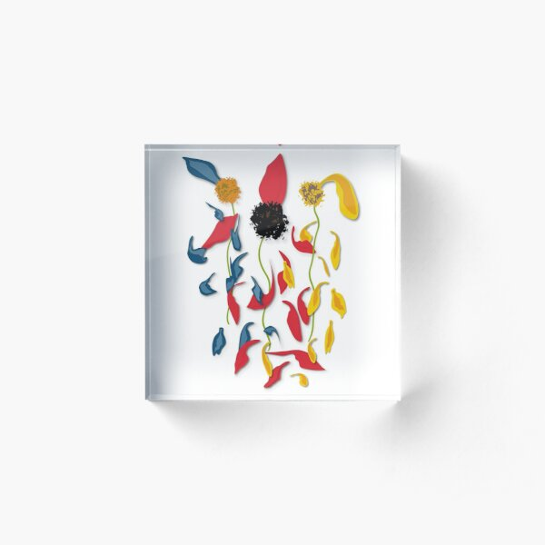 Must Be Love by Muse in Mind Design Acrylic Block