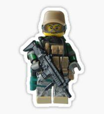 Modern Military Fox Sticker