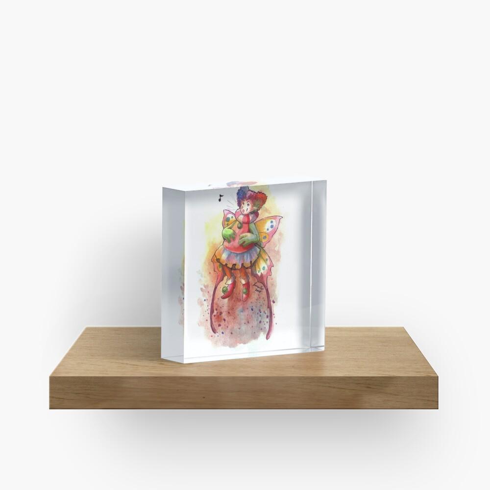 The Squeak Fairy Acrylic Block