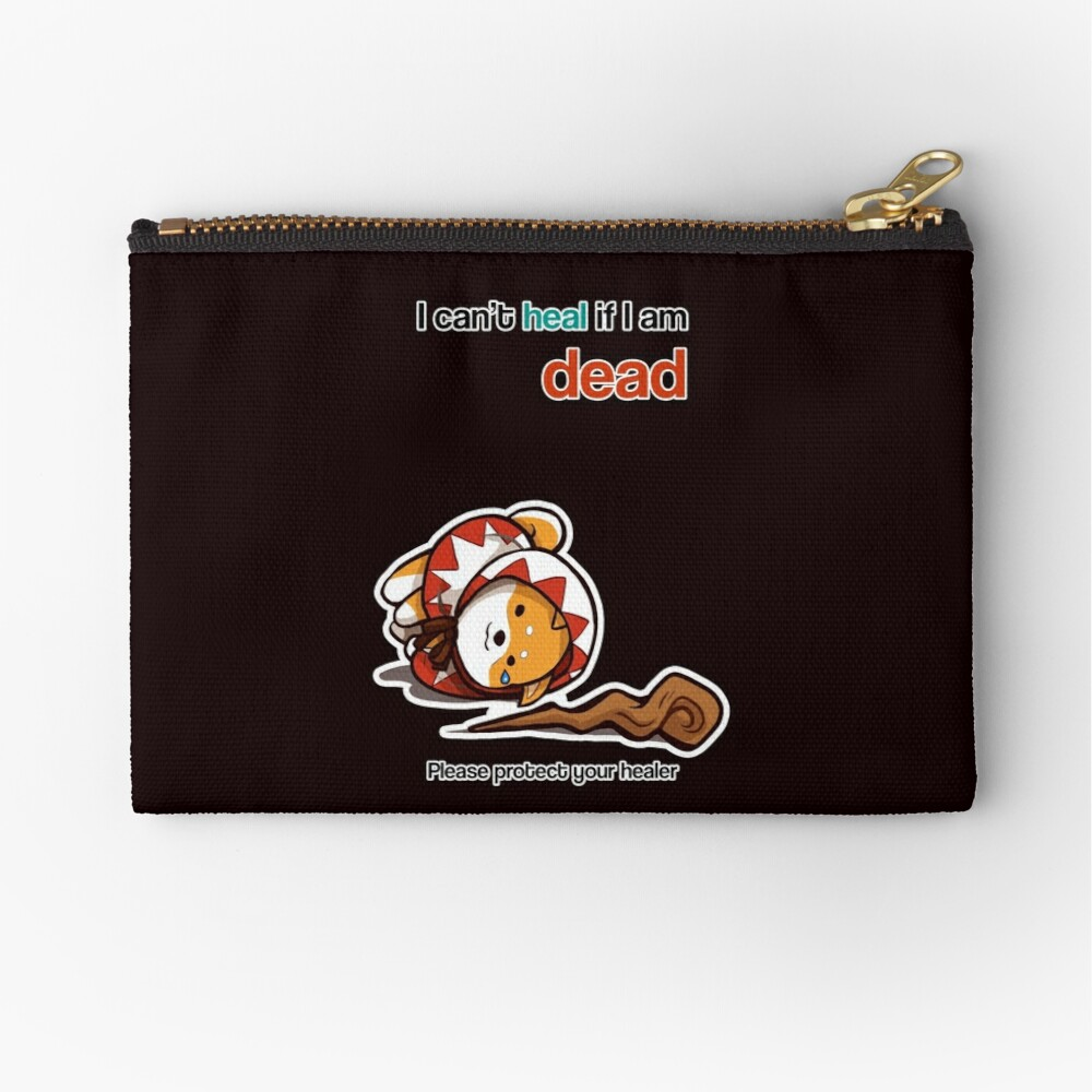 Protect your Healer Zipper Pouch