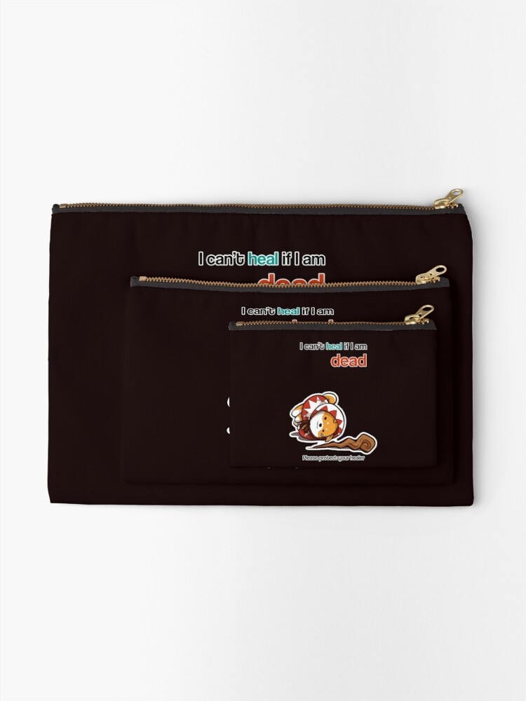Alternate view of Protect your Healer Zipper Pouch