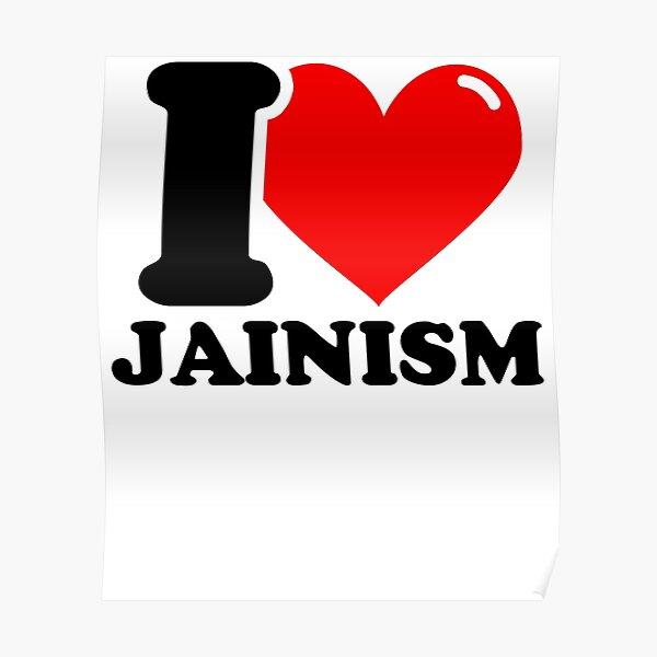 I Love Jainism Poster