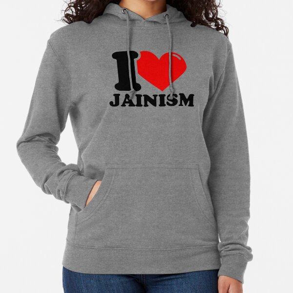 I Love Jainism Lightweight Hoodie