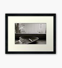 Nobody Home  Framed Print