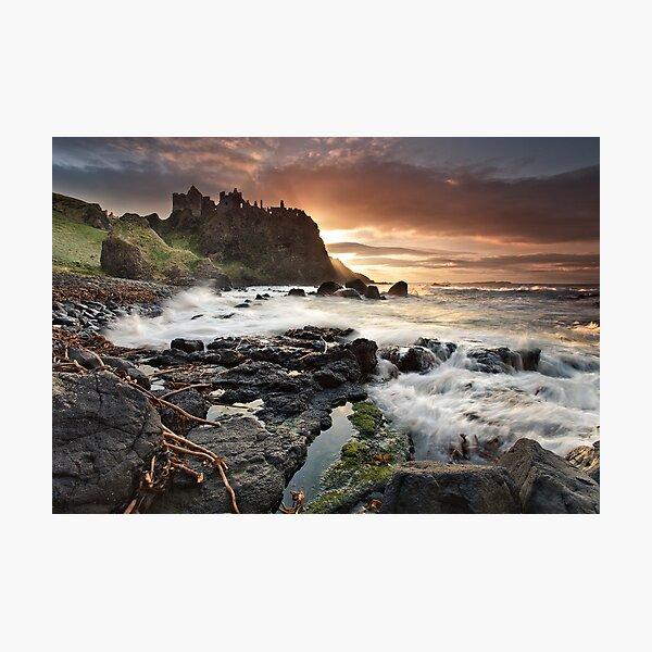 Dunluce Castle - Co Antrim Photographic Print