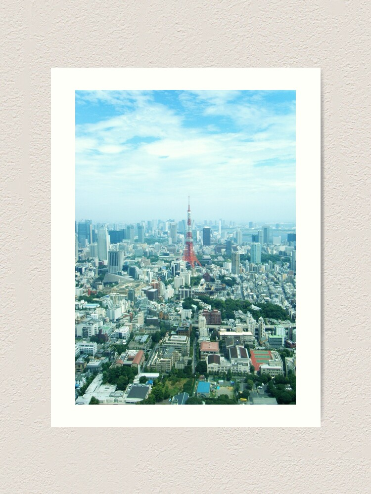 Alternate view of Tokyo Art Print