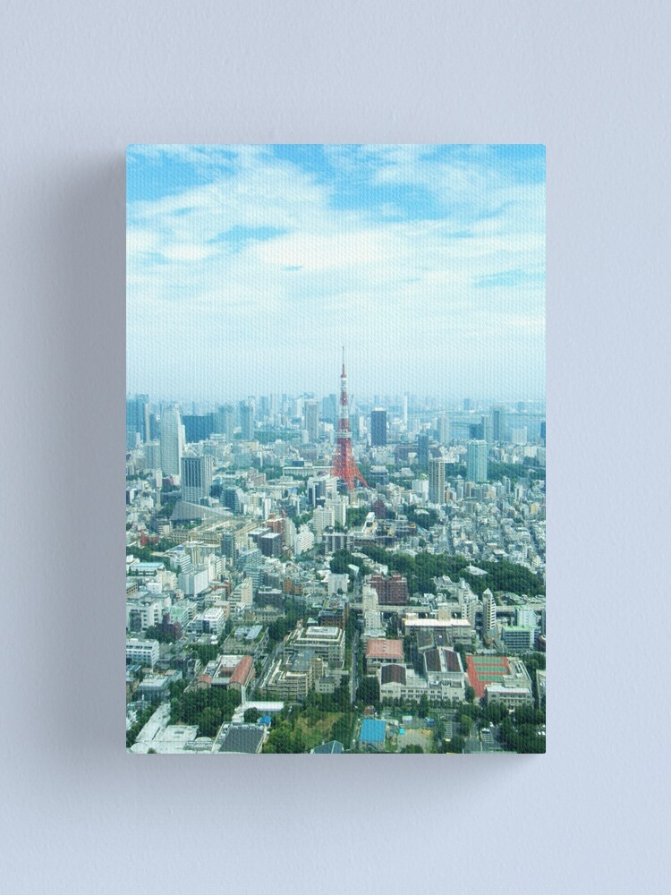 Alternate view of Tokyo Canvas Print