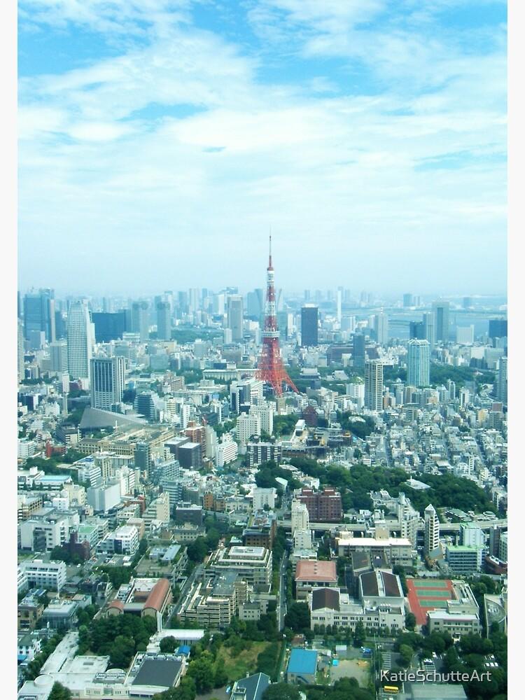 Tokyo by KatieSchutteArt