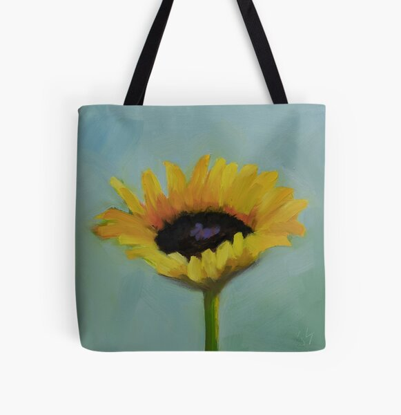 So Happy All Over Print Tote Bag